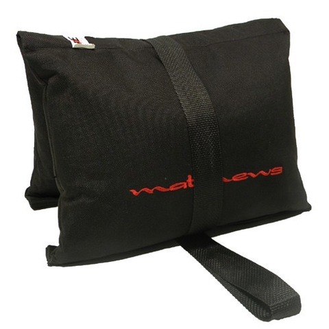 Matthews Sandbag - Black - 15 lb (Filled) by matthews studio equipment at B&C Camera