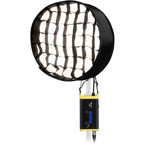 ikan CB6 Round Canvas Bi-Color Bendable LED Panel by ikan at bandccamera