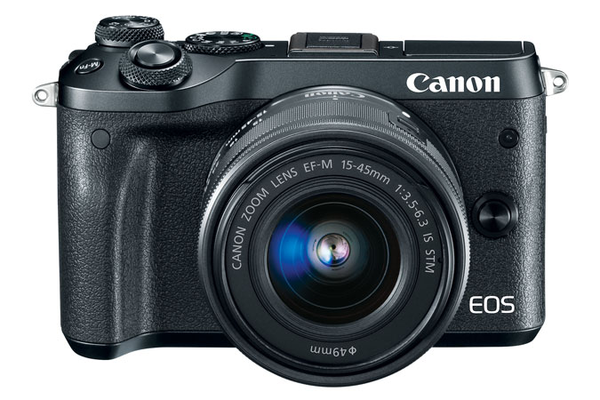 Canon EOS M6 EF-M 15-45mm f/3.5-6.3 IS STM Kit Black