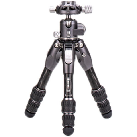 Benro Tortoise Columnless Carbon Fiber Zero Series Tripod with GX25 Ballhead, 3 Leg Sections, Twist Leg Locks, Padded Carrying Case