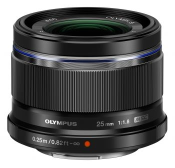 Olympus M.Zuiko Digital 25mm f/1.8 Lens (Black) by Olympus at B&C Camera