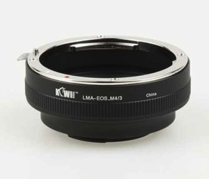 Promaster Kiwi Lens Mount Adapter - Canon EOS to Micro 4/3 - B&C Camera - 2