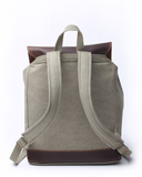 Kelly Moore Bag - Pilot - Moss Green/Brown Canvas Backpack - B&C Camera - 4