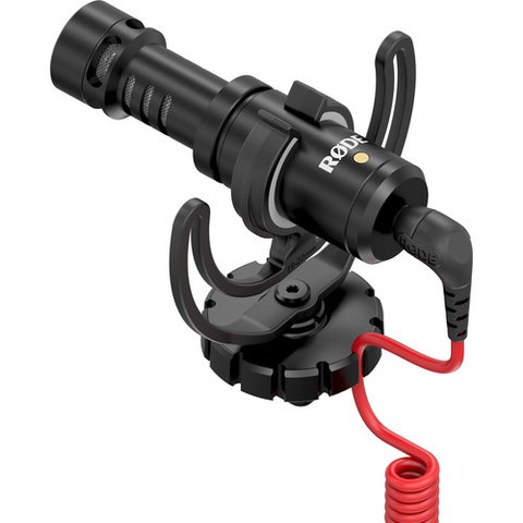 Rode VideoMicro Compact On-Camera Microphone by Rode at B&C Camera
