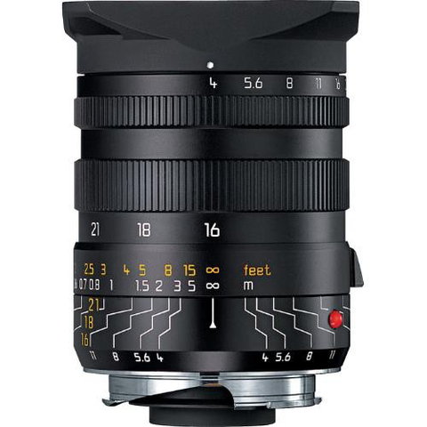 Leica Wide Angle Tri-Elmar-M 16-18-21mm f/4 ASPH Manual Focus Lens by Leica at bandccamera