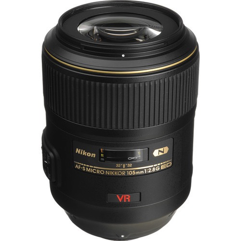 Nikon AF-S VR Micro-NIKKOR 105mm f/2.8G IF-ED Lens by Nikon at B&C Camera