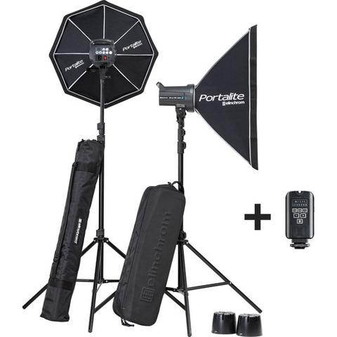 Elinchrom D-Lite RX 4/4 Softbox To Go Kit by Elinchrom at B&C Camera