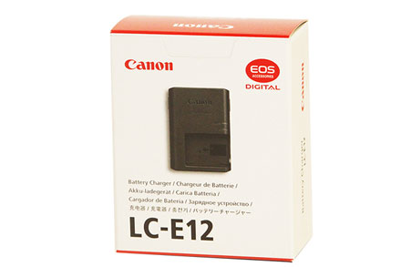 Canon Battery Charger LC-E12 by Canon at B&C Camera