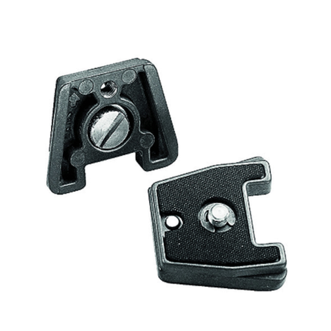 "Manfrotto Dove Tail Quick Release Plate with 1/4"" Screw by Manfrotto at B&C Camera"