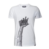 COOPH T-SHIRT  SNAPOGRAPHER ( WHITE ) -MEDIUM by Cooph at bandccamera