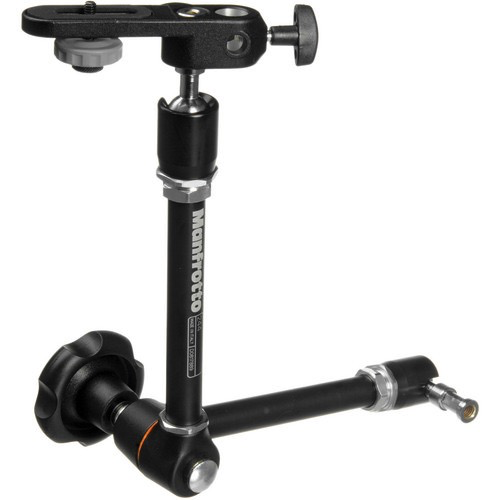 Manfrotto 244 Variable Friction Magic Arm with Camera Bracket by Manfrotto at B&C Camera