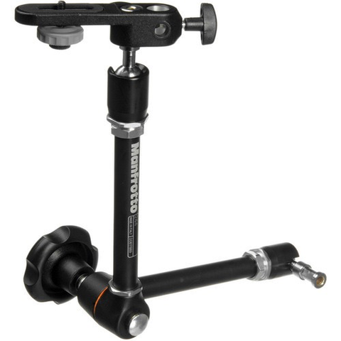 Manfrotto 244 Variable Friction Magic Arm with Camera Bracket by Manfrotto at bandccamera