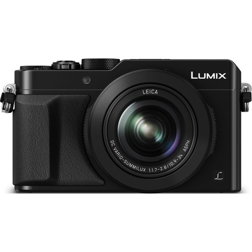 Panasonic Lumix DMC-LX100 Digital Camera (Black) by Panasonic at B&C Camera