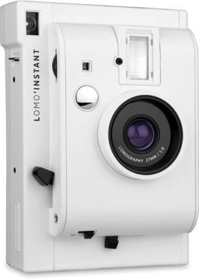 Lomography Lomo Instant Camera (White Edition) - B&C Camera - 6