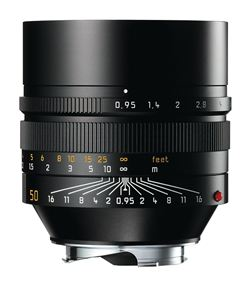Leica Noctilux-M 50mm f/0.95 ASPH Lens (Black) - B&C Camera