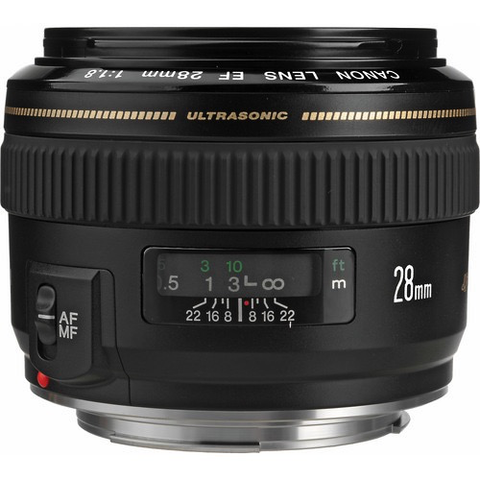 Canon EF 28mm f/1.8 USM by Canon at B&C Camera