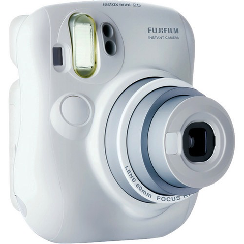 Fujifilm Instax Mini 25 Instant Camera - White by Fujifilm at B&C Camera