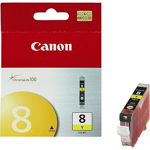 Canon CLI-8 Yellow Ink Cartridge by Canon at bandccamera