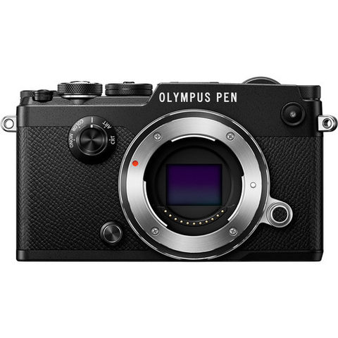 Olympus PEN-F Mirrorless Micro Four Thirds Digital Camera Body (Black)