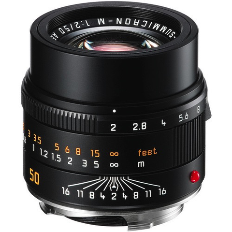 Leica APO-Summicron-M 50mm f/2 ASPH Lens by Leica at B&C Camera