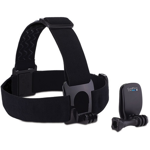 GoPro Head Strap + QuickClip by GoPro at B&C Camera