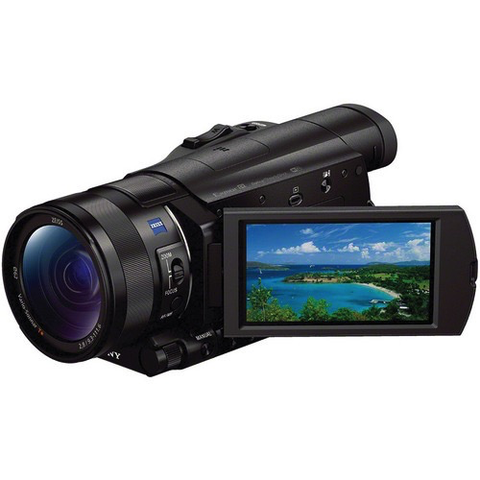 Sony FDR-AX100 4K Ultra HD Camcorder by Sony at B&C Camera