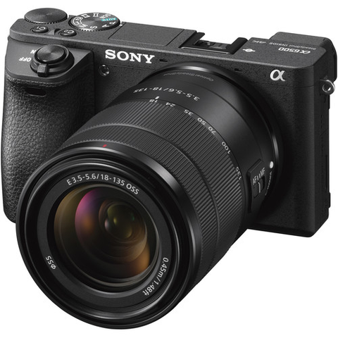 Sony Alpha a6500 Mirrorless Digital Camera with 18-135mm Lens by Sony at bandccamera