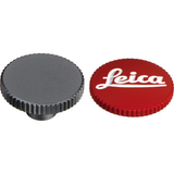 "Leica Soft Release Button for M-System Cameras - 12mm, Red ""Leica"" by Leica at B&C Camera"