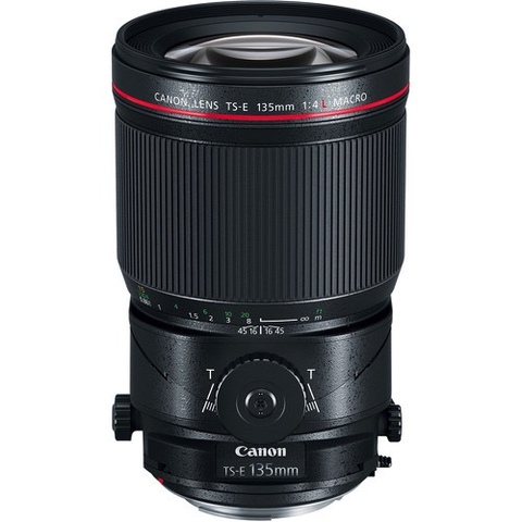 Canon TS-E 135mm f/4L Macro Tilt-Shift Lens by Canon at B&C Camera