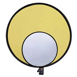 "Promaster REFLECTOR - SILVER/GOLD - 22"" by Promaster at B&C Camera"
