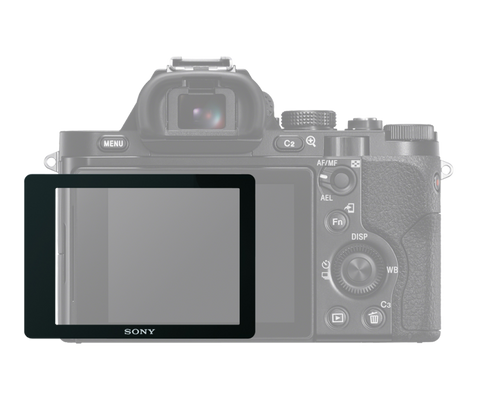 Semi-hard Screen Protector for a7 and a7R by Sony at B&C Camera