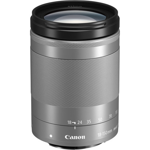 Canon EF-M 18-150mm f/3.5-6.3 IS STM Lens (Silver) by Canon at B&C Camera