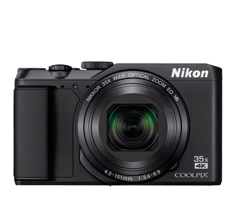Nikon COOLPIX A900 Digital Point and Shoot Camera (Black) - B&C Camera