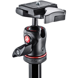 Manfrotto BeFree Compact Travel Carbon Fiber Tripod (Carbon) - B&C Camera - 3