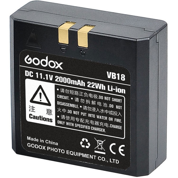 GODOX VB-18 LI-ION BATTERY FOR VING SERIES FLASHES