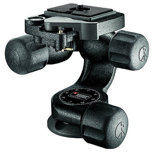 Manfrotto 460MG 3D Magnesium Head with RC2 Quick Release - B&C Camera