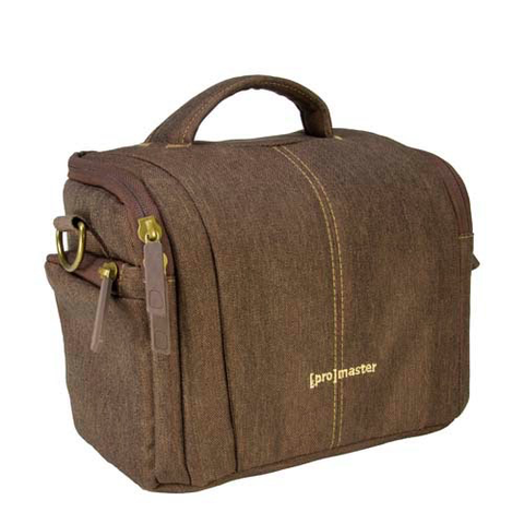 Promaster Cityscape 20 Shoulder Bag (Hazelnut Brown) by Promaster at B&C Camera