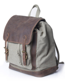 Kelly Moore Bag - Pilot - Moss Green/Brown Canvas Backpack - B&C Camera - 3