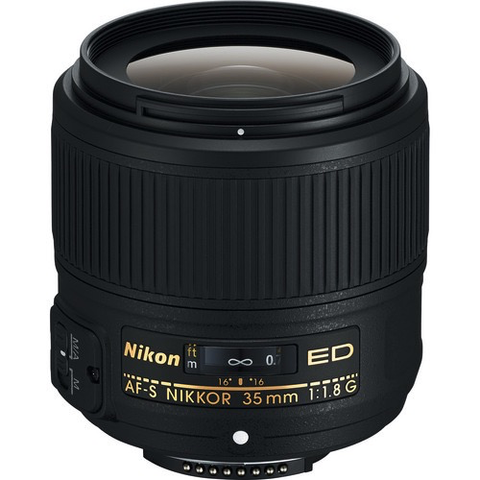 Nikon AF-S NIKKOR 35mm f/1.8G ED Lens by Nikon at B&C Camera