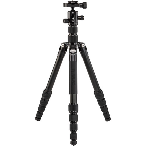 Benro Tripster Travel Tripod (1 Series, Black, Aluminum)