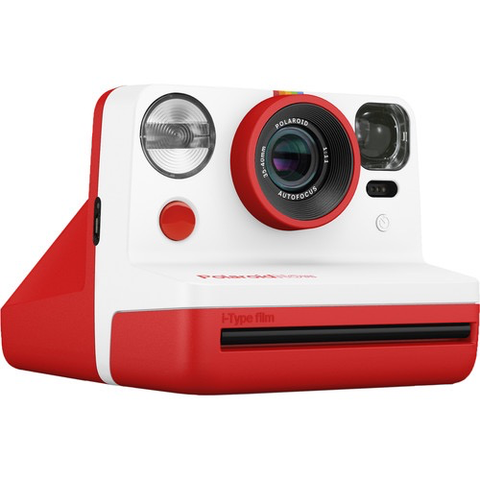 Polaroid Now Instant Film Camera (Red)