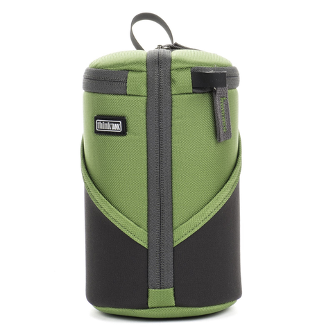 Think Tank Photo Lens Case Duo 15 (Green) by thinkTank at B&C Camera