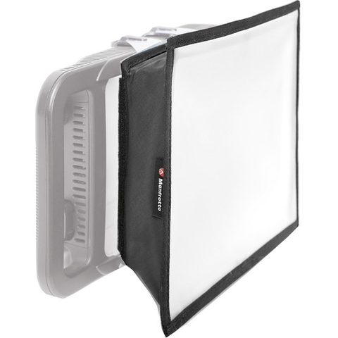 Manfrotto LYKOS LED Softbox by Manfrotto at bandccamera