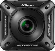 Nikon KeyMission 360 (Black) by Nikon at bandccamera
