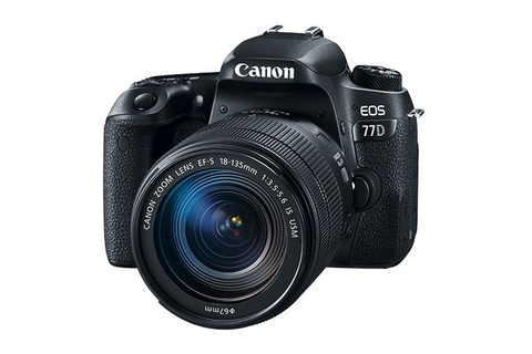 Canon EOS 77D EF-S 18-135 IS USM Kit by Canon at B&C Camera