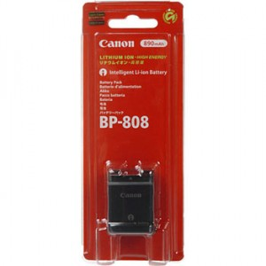 Canon Battery Pack BP-808 for Canon Vixia HF G20 by Canon at bandccamera