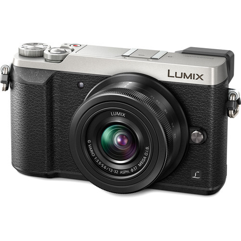 Panasonic Lumix DMC-GX85 Mirrorless Micro Four Thirds Digital Camera with 12-32mm Lens (Silver) by Panasonic at bandccamera