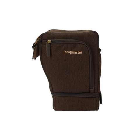 PROMASTER Cityscape 16 Holster Sling Bag - Hazelnut Brown by Promaster at B&C Camera