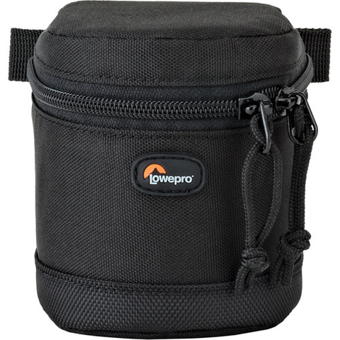 Lowepro Small Lens Case 7x8cm (Black) by Lowepro at B&C Camera