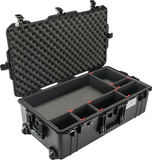 Pelican 1615Air Carry-On Case with TrekPak Dividers (Black)